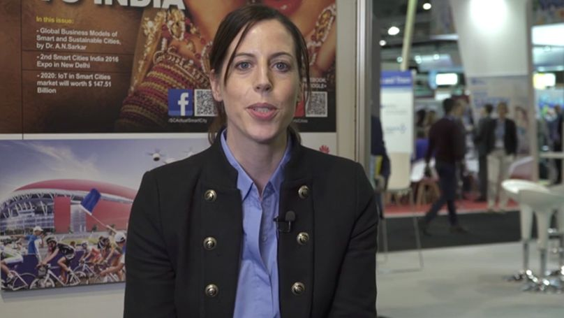 Jennifer Harth | Marketing & Communication Director of World Sensing | SCEWC'16