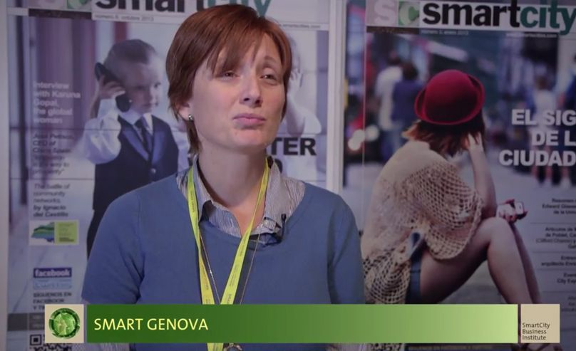 Mirella Marrazzo, Genova's City Council. SCEWC'14