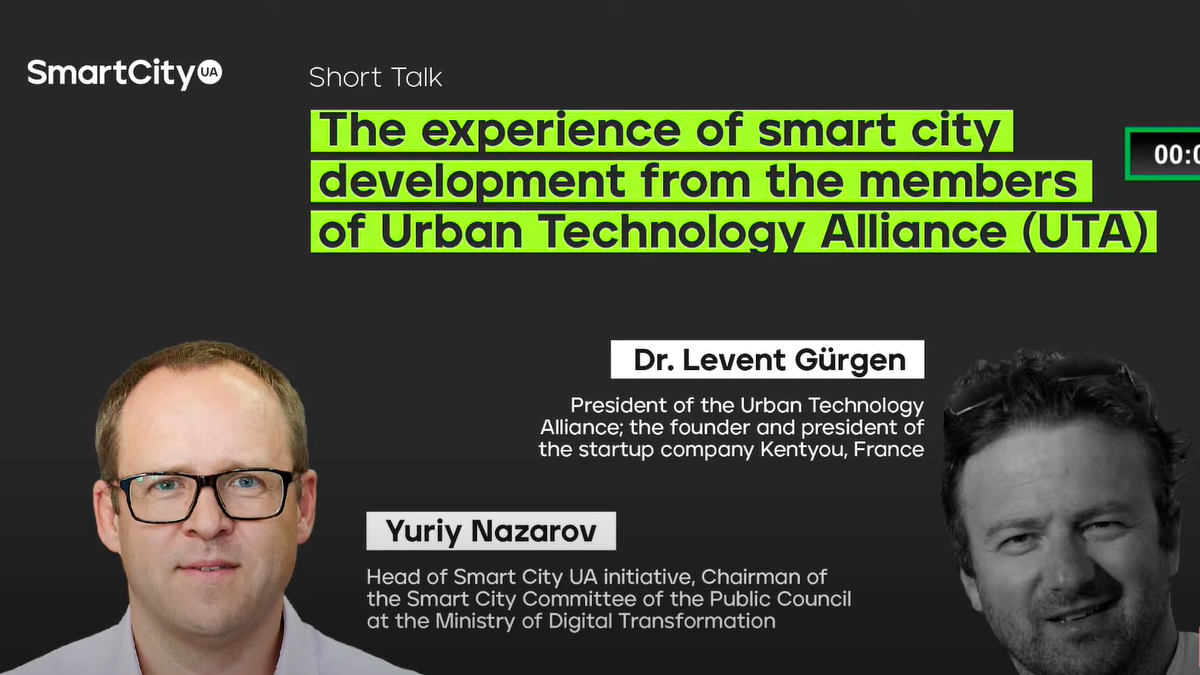 The experience of smart city development from the members of Urban Technology Alliance (UTA)